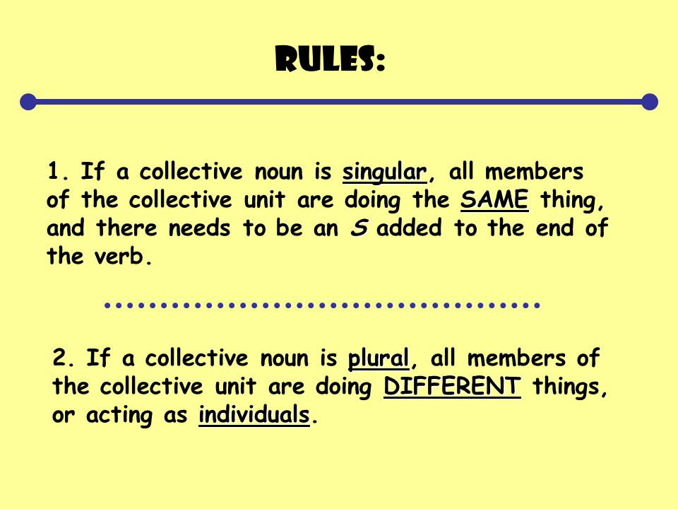 Guided Practice Underline the collective noun in each sentence.