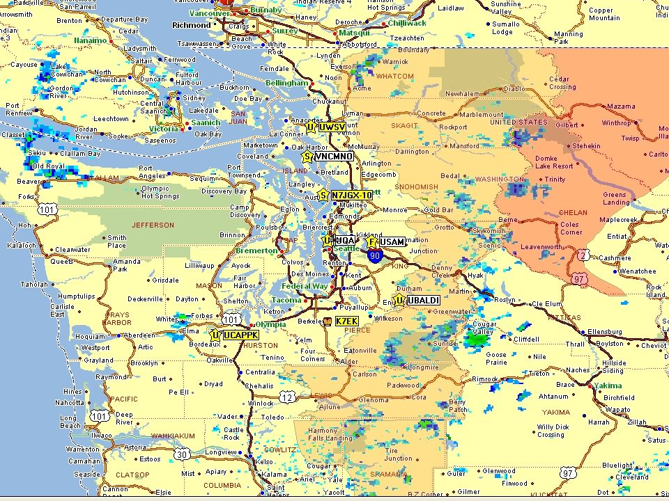 Western Washington 9.6k UHF APRS System The simple way to use the system is with the Kenwood D700 and D7 transceivers ……………….