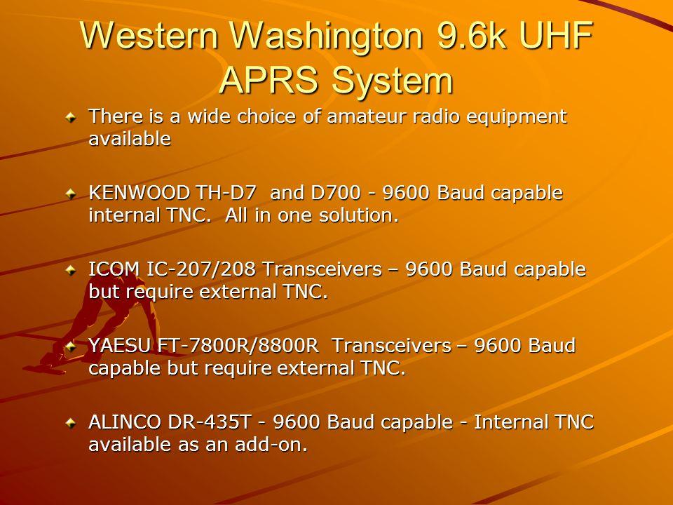 9600 Baud TNC's Kantronics 9612+ AEA/Timewave PK-96 IFD TNC7multi (German) SCS Tracker DSP Tnc