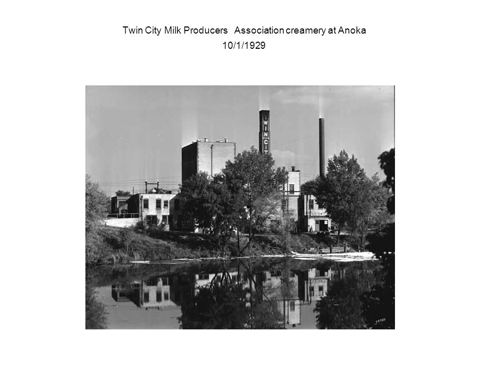 Twin City Milk Producers Association creamery at Anoka 10/1/1929