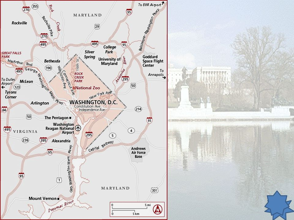 Bellwork: January 10, 2014 Use the Map of Washington D.C. to write and answer the following question. What parkway follows the Potomac River?