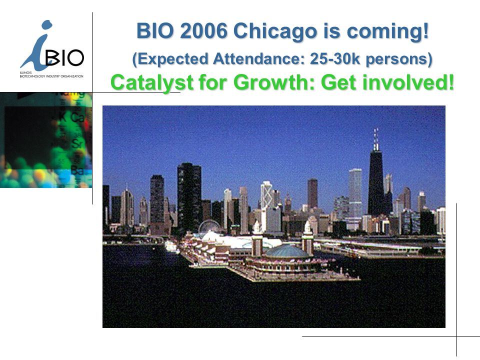 BIO 2006 Chicago is coming.