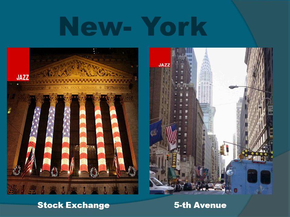 New- York Stock Exchange5-th Avenue