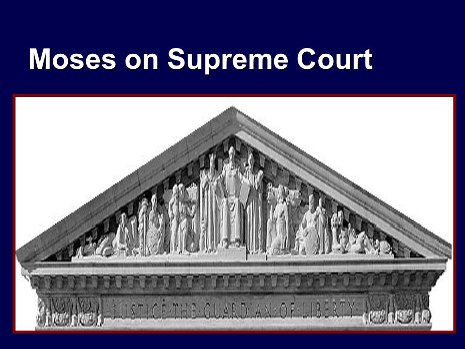 Moses on Supreme Court
