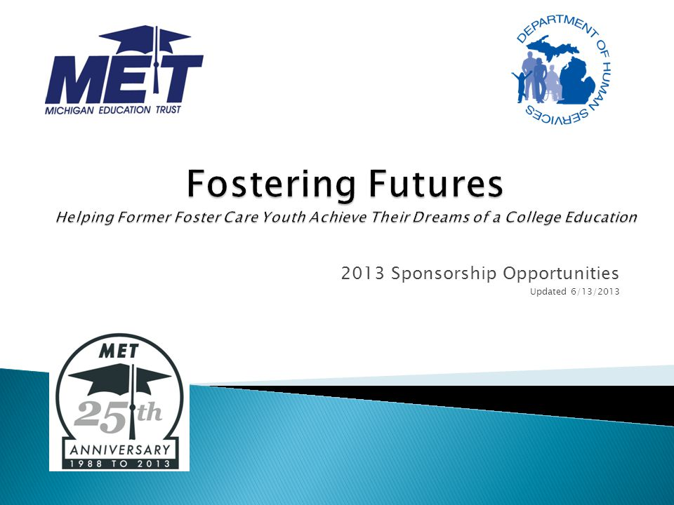 2013 Sponsorship Opportunities Updated 6/13/2013