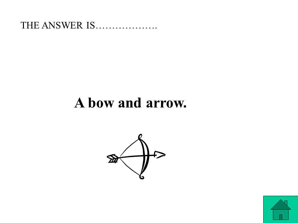 THE QUESTION IS……. What weapon was Katniss most skilled to use