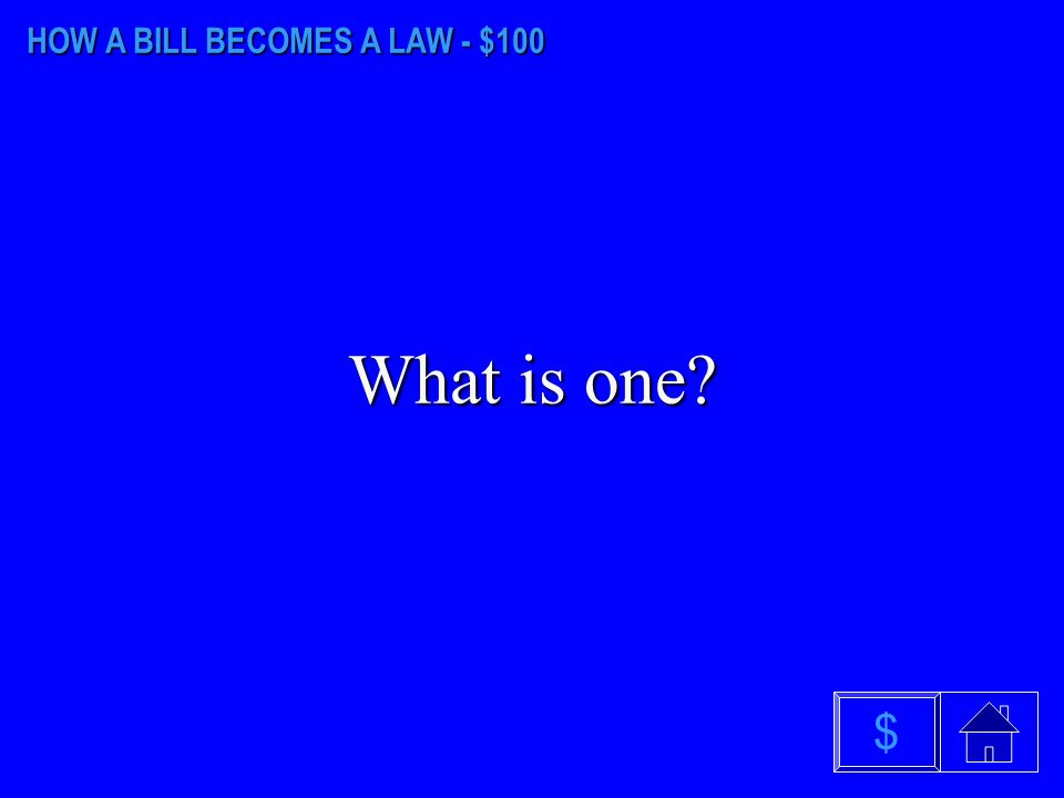 JUDICIAL & EXECUTIVE BRANCH - $500 What is the Supreme Court? $