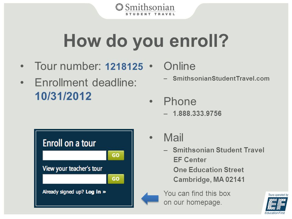 How do you enroll.