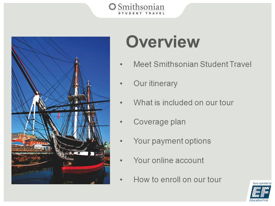 What does Smithsonian Student Travel do.