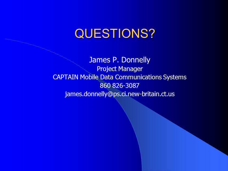 QUESTIONS. James P.