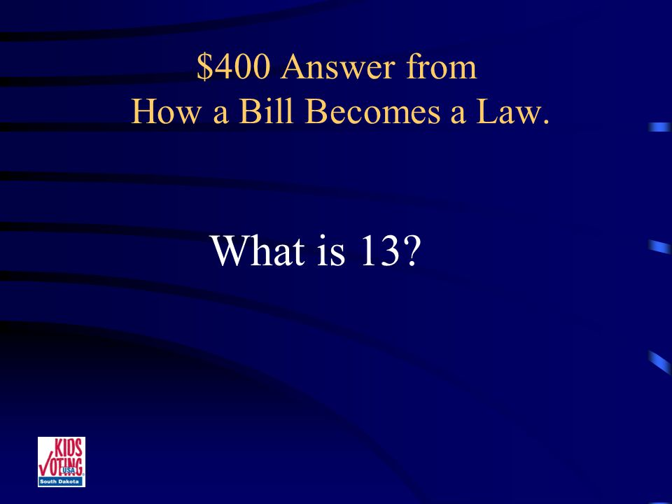 $400 Question from How a Bill Becomes a Law. The Number of Committees in the Legislature.