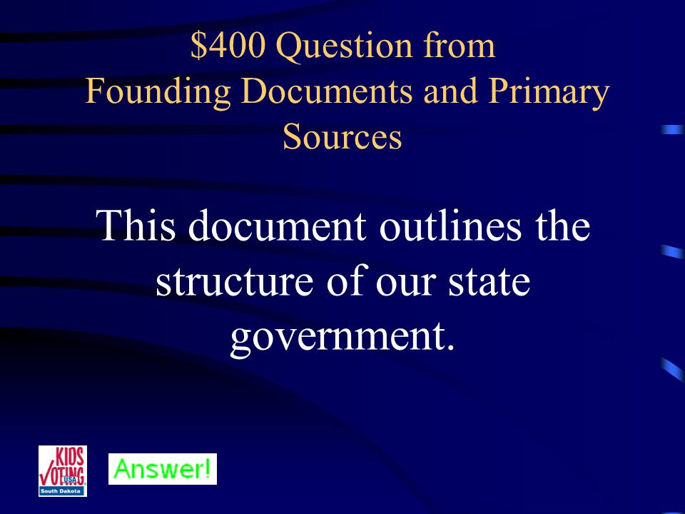 $300 Answer from Founding Documents and Primary Sources What is the Bill of Rights