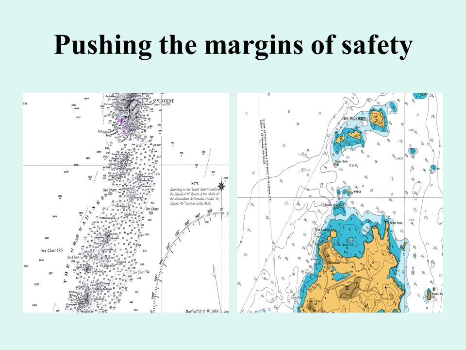 Pushing the margins of safety