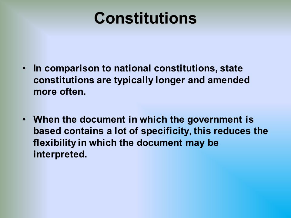 The Constitution of Congressional Reconstruction (1869) In the November elections of 1866, the radical Republicans gained control of Congress.In the November elections of 1866, the radical Republicans gained control of Congress.