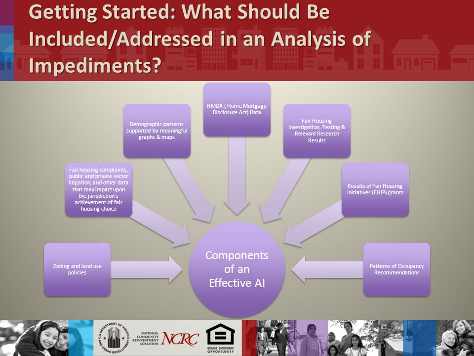 Getting Started: What Should Be Included/Addressed in an Analysis of Impediments.