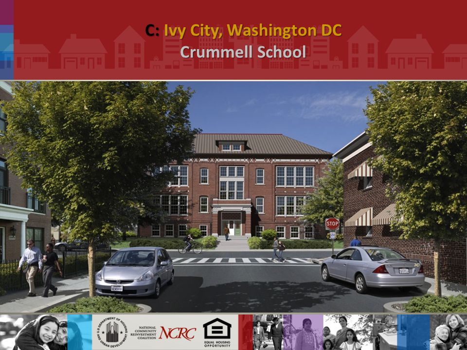 C: Ivy City, Washington DC Crummell School.