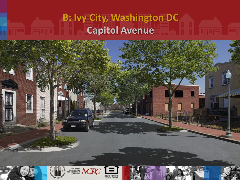 B: Ivy City, Washington DC Capitol Avenue.