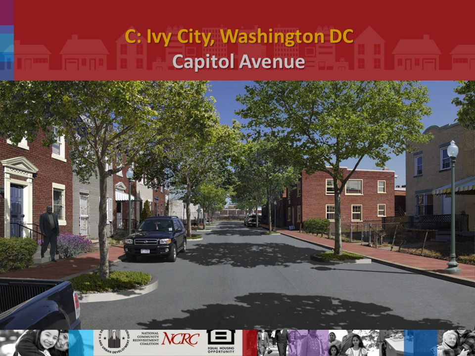 C: Ivy City, Washington DC Capitol Avenue.