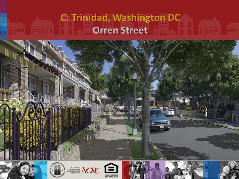 C: Trinidad, Washington DC Orren Street.