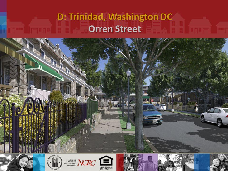 D: Trinidad, Washington DC Orren Street.