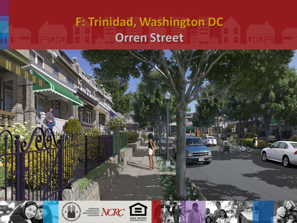 F: Trinidad, Washington DC Orren Street.