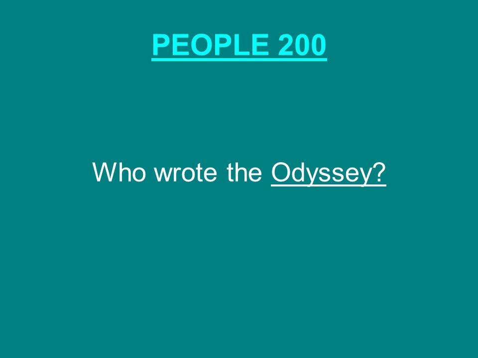 GODS & GODDESSES 200 The gods and goddesses live here: Mt. Olympus