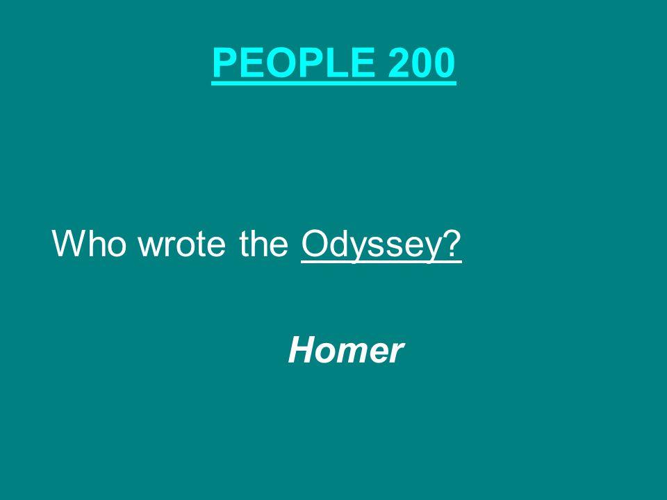PARTHENON & ACROPOLIS 200 What is the Greek word that means high city ? acropolis