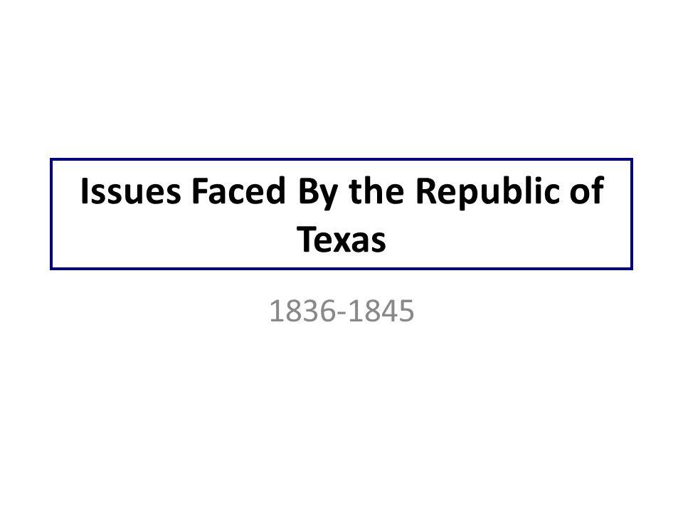 ©2010, TESCCC President Sam Houston 1836-1838, 1841-1844