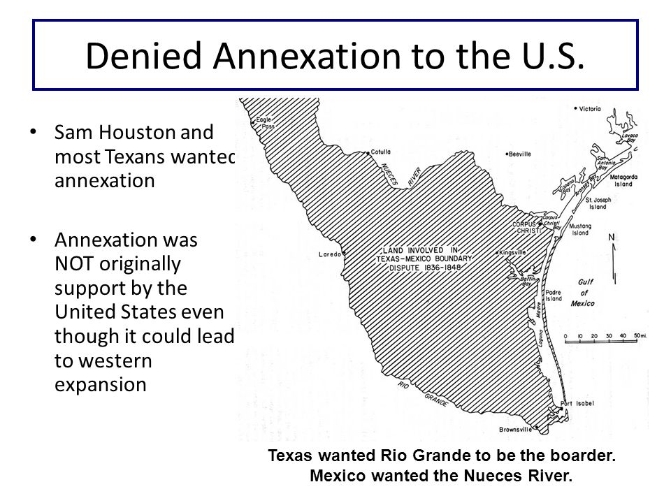 Denied Annexation to the U.S.Why was it denied. 1.U.S.