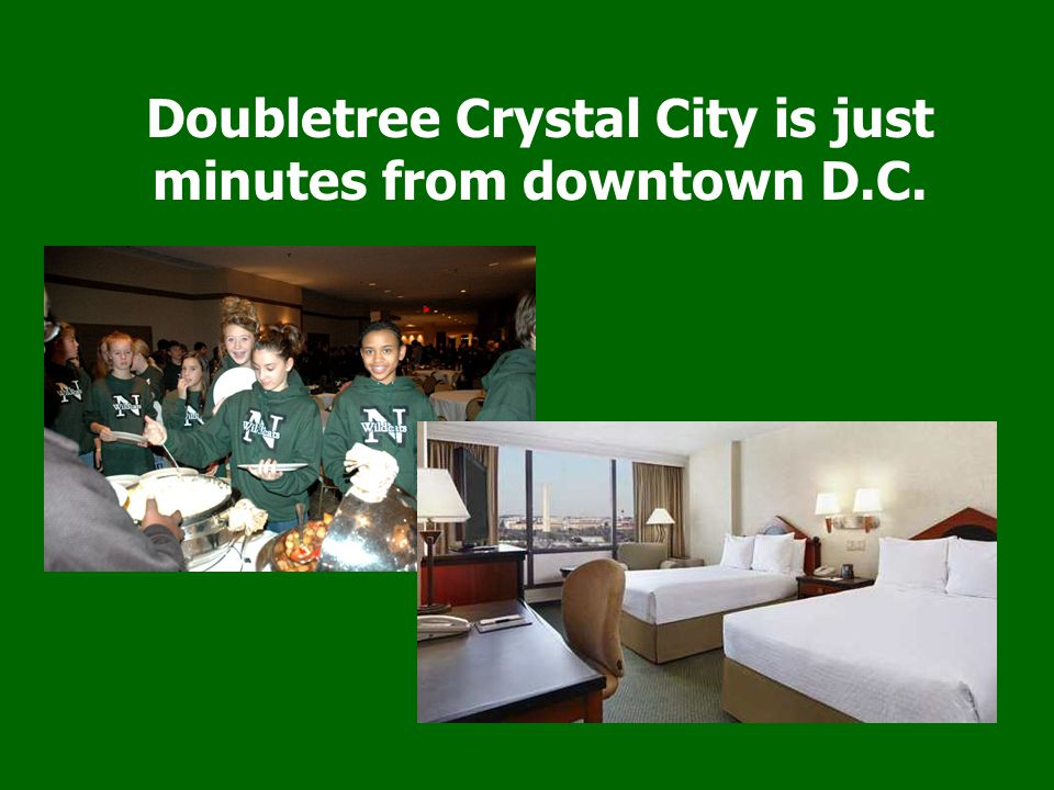 Doubletree Crystal City is just minutes from downtown D.C.