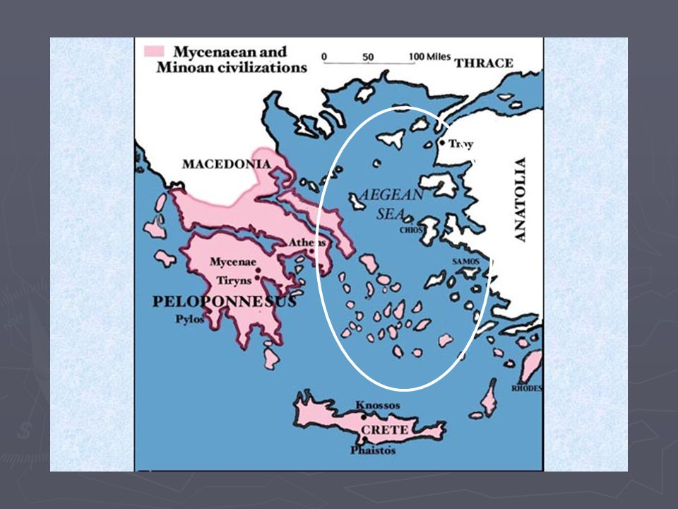 Late Bronze Age ► Fall (or destruction) of Minoans opened up opportunities for the Mycenaean civilization on mainland Greece and the eastern Mediterranean ► The period from 1600-1000 BC is often referred to as the Age of Heroes in Greek mythology.