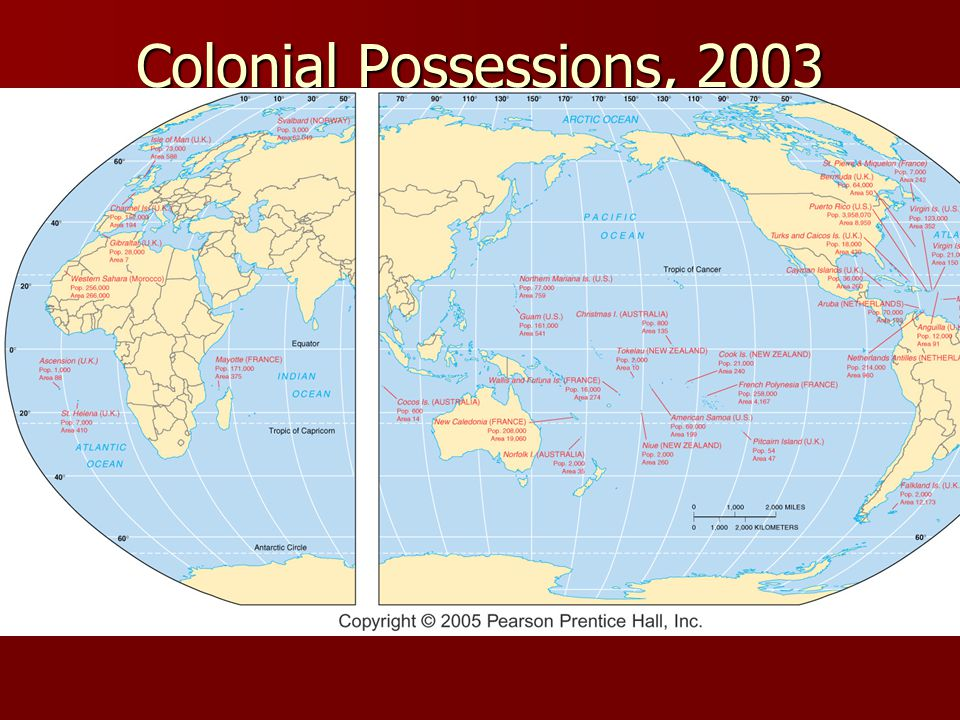 Colonial Possessions, 2003 Fig.