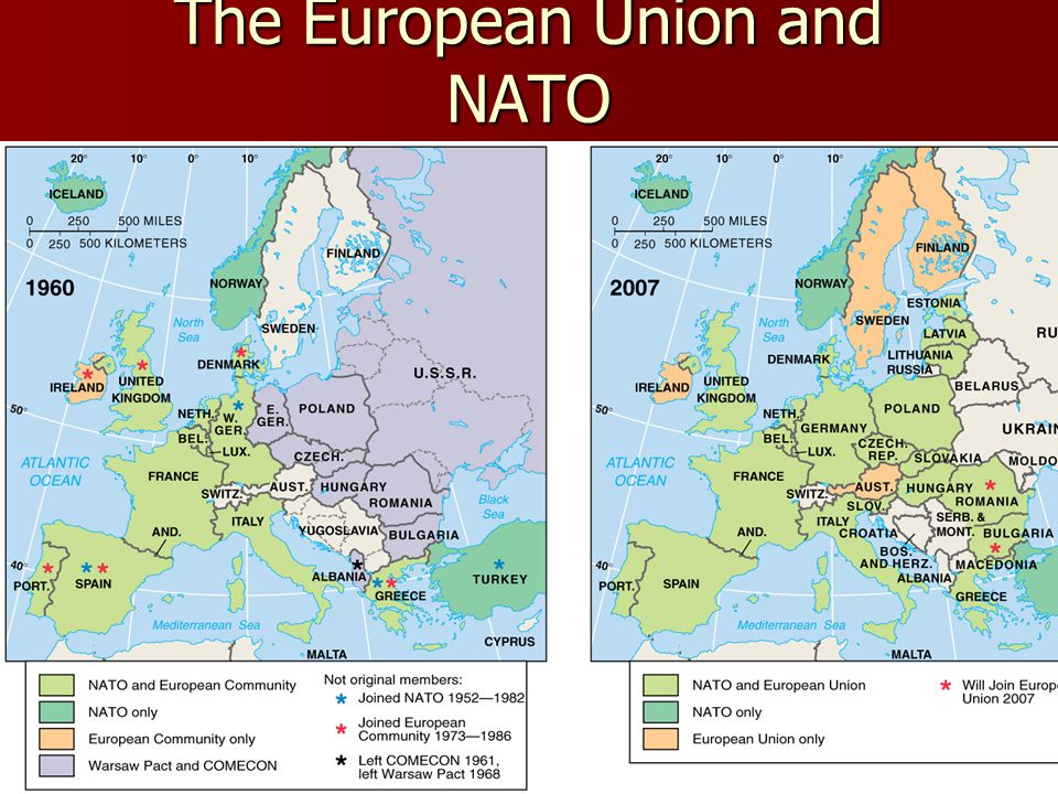 The European Union and NATO Fig.