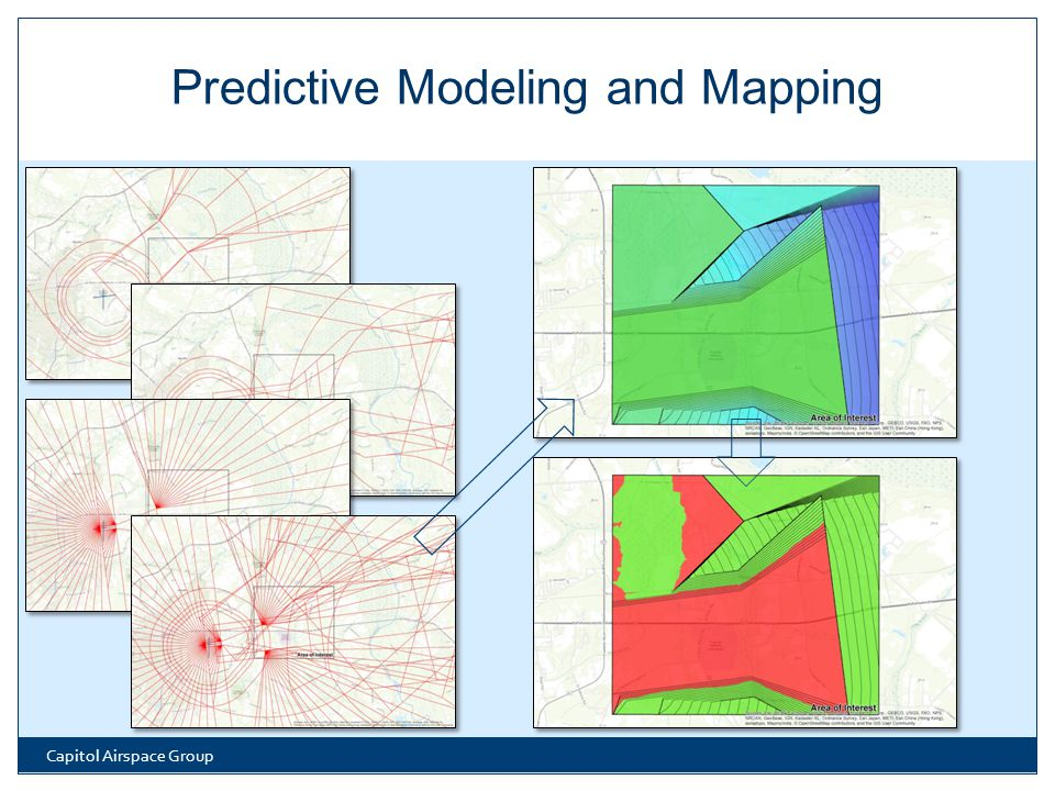 Capitol Airspace Group Predictive Modeling and Mapping