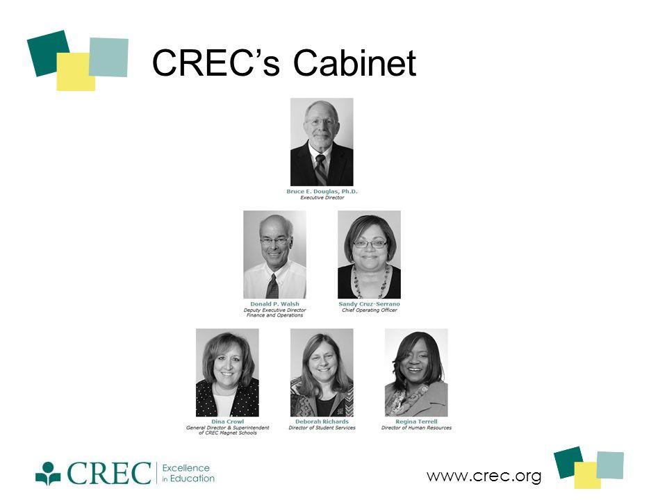 www.crec.org CREC's Cabinet