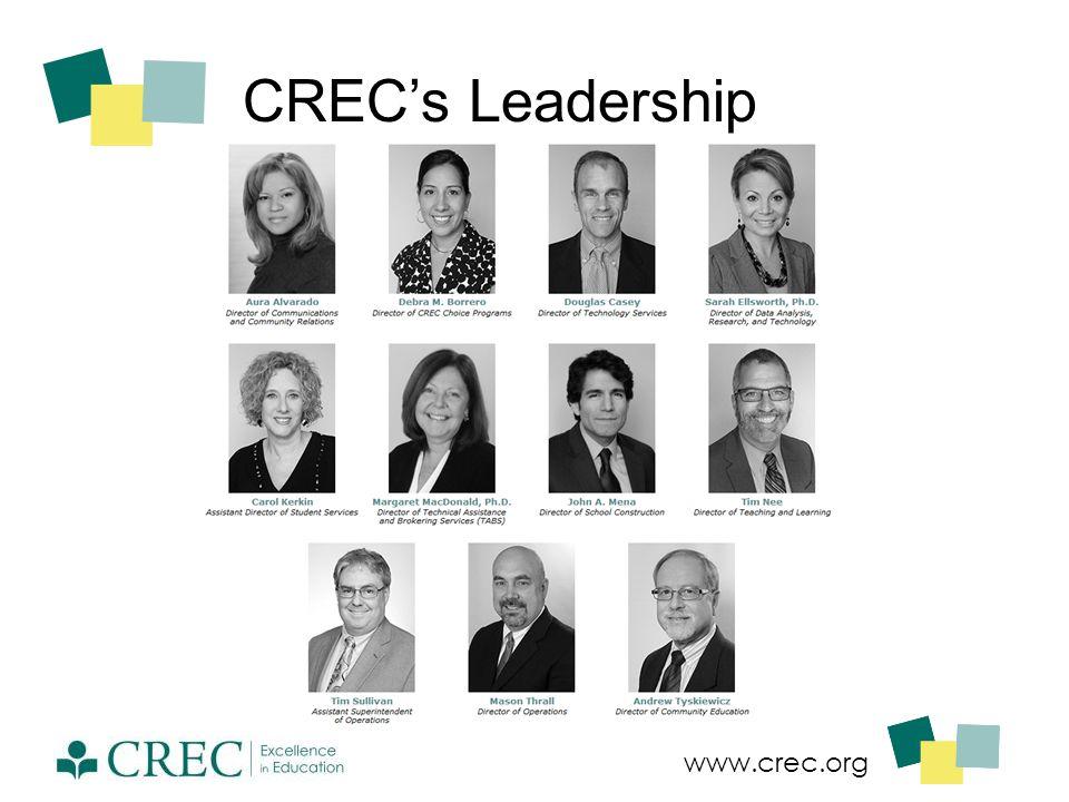www.crec.org CREC's Leadership