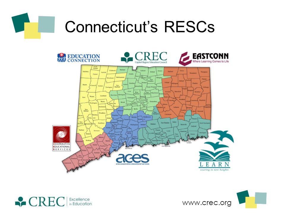 www.crec.org Connecticut's RESCs