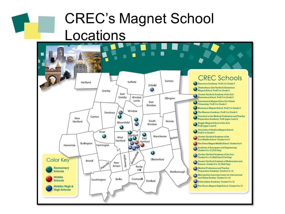 www.crec.org CREC's Magnet School Locations