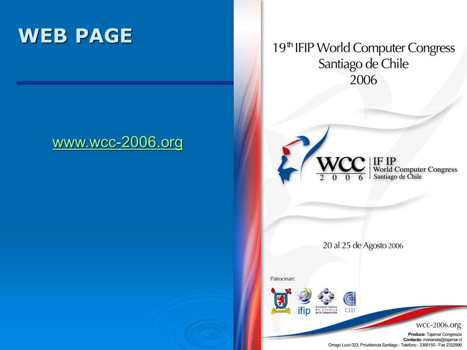 WEB PAGE www.wcc-2006.org