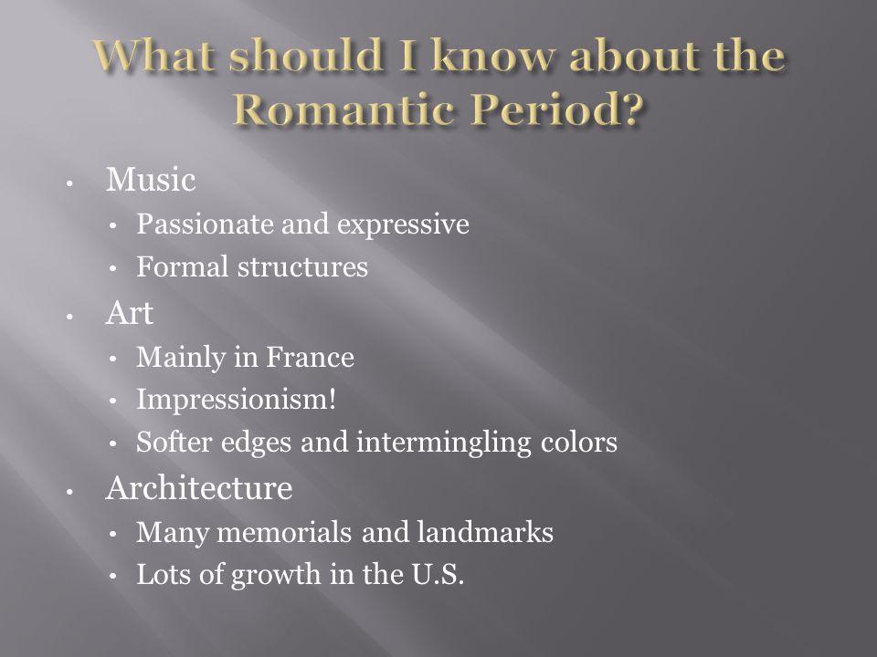 Impressionism Originated in Paris in the late 1800s.