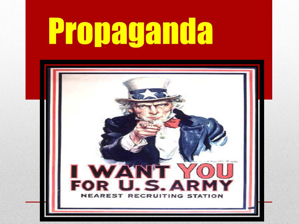 Key Questions What is propaganda.How does it work.