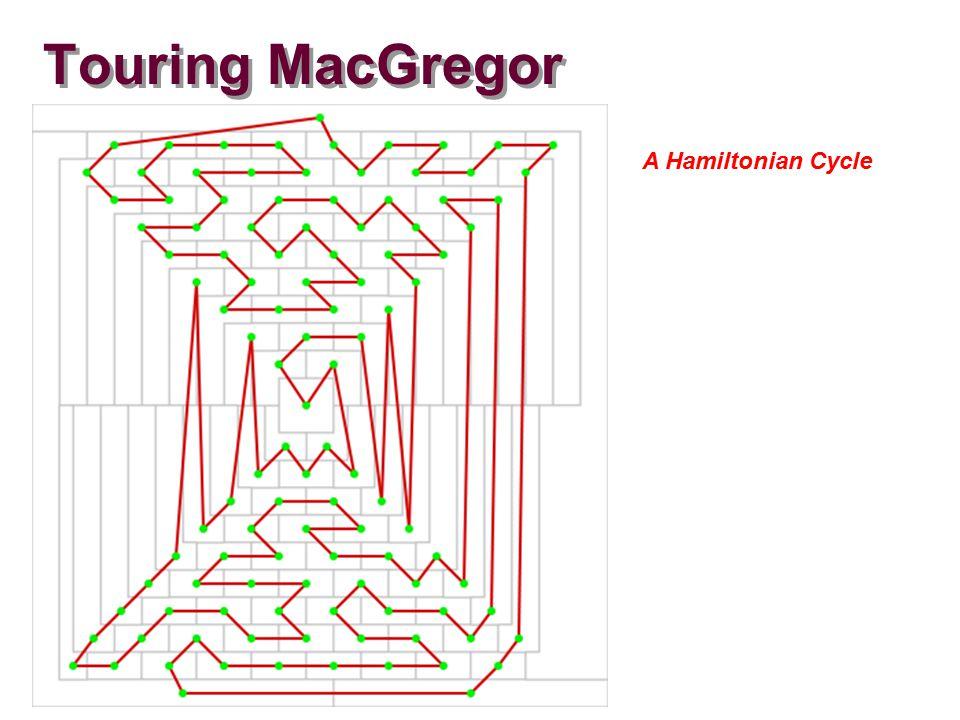 Touring MacGregor A Hamiltonian Cycle