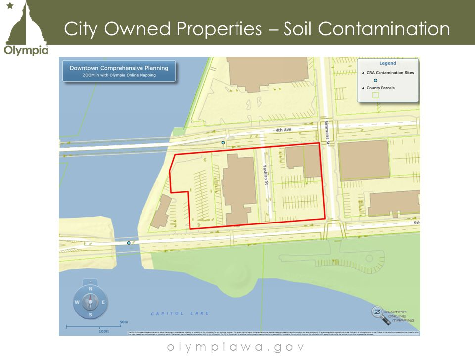 City Owned Properties – Soil Contamination olympiawa.gov