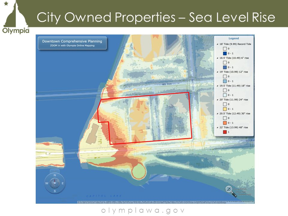 City Owned Properties – Sea Level Rise olympiawa.gov