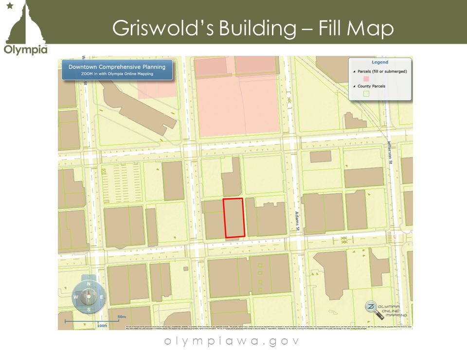 Griswold's Building – Fill Map olympiawa.gov