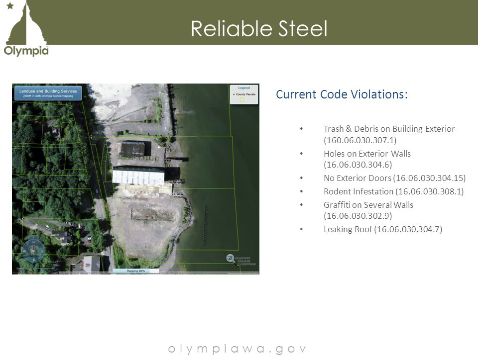 Griswold's Building – Sea Level Rise olympiawa.gov