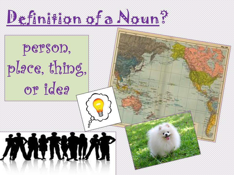 There are six different types of nouns.Noooo!!.