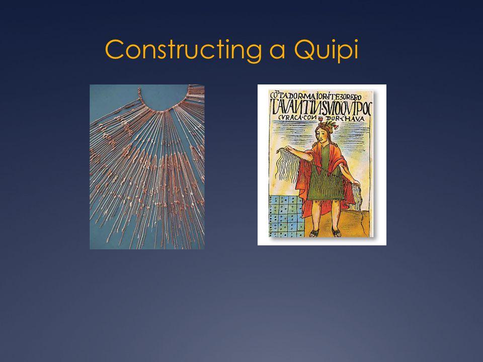 Constructing a Quipi