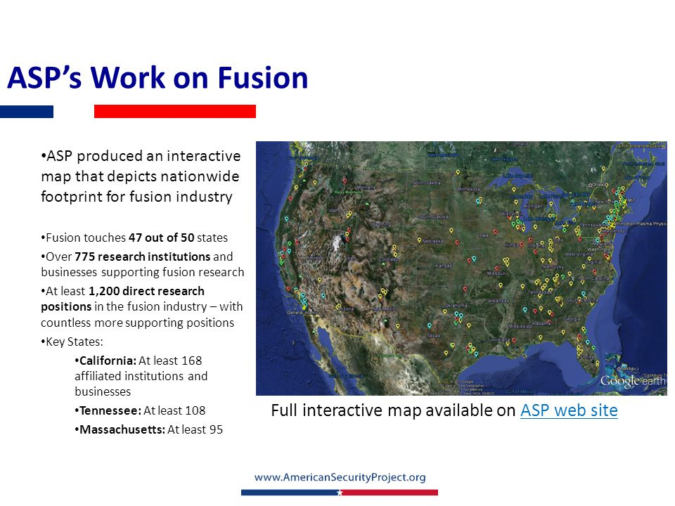 Science and Fusion Community Outreach Media Monitor Issue Briefs AGU and ASP Partnership – explaining science policy on the Hill and to the media Outreach to fusion scientists