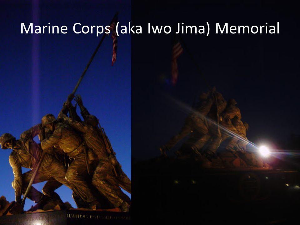 Marine Corps (aka Iwo Jima) Memorial